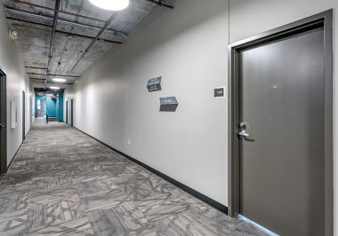 Hallways at City Lofts on Laclede