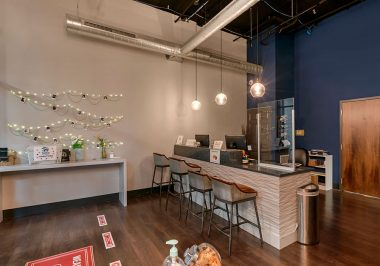 Entry Area at City Lofts on Laclede