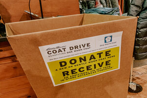 Coat Drive At City Lofts on Laclede